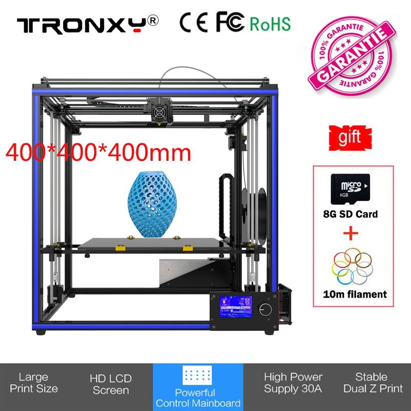 400*400*400mm Tronxy X5S-400 Large 3D Printer DIY i3 High Precision Dual Z Print High Precision Hotbed 3D Printer Kit 12864 LCD все цены