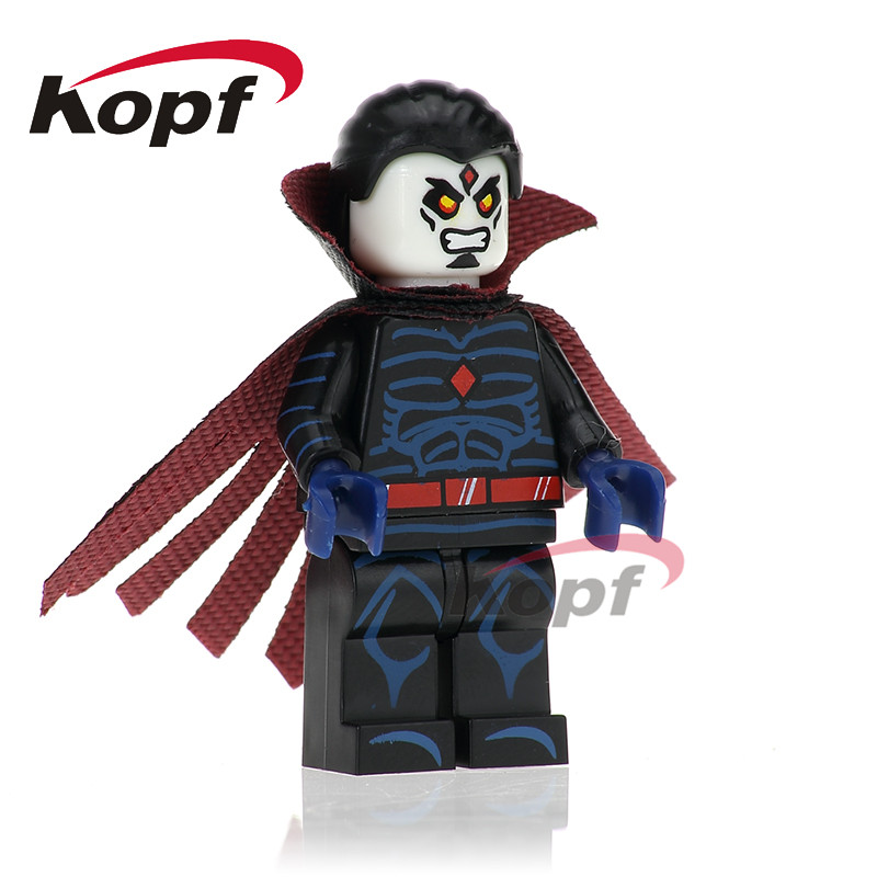 Single Sale X-men Cannonball Black Canary Captain America Dormammu Building Blocks Super Heroes Bricks Toys for children PG220