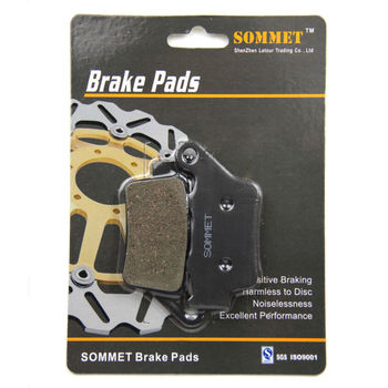 SOMMET Motorcycle Rear Brake Pads Disks 1 pair for BMW F 650 GS (99-13) F650GS F650 GS LT208 image
