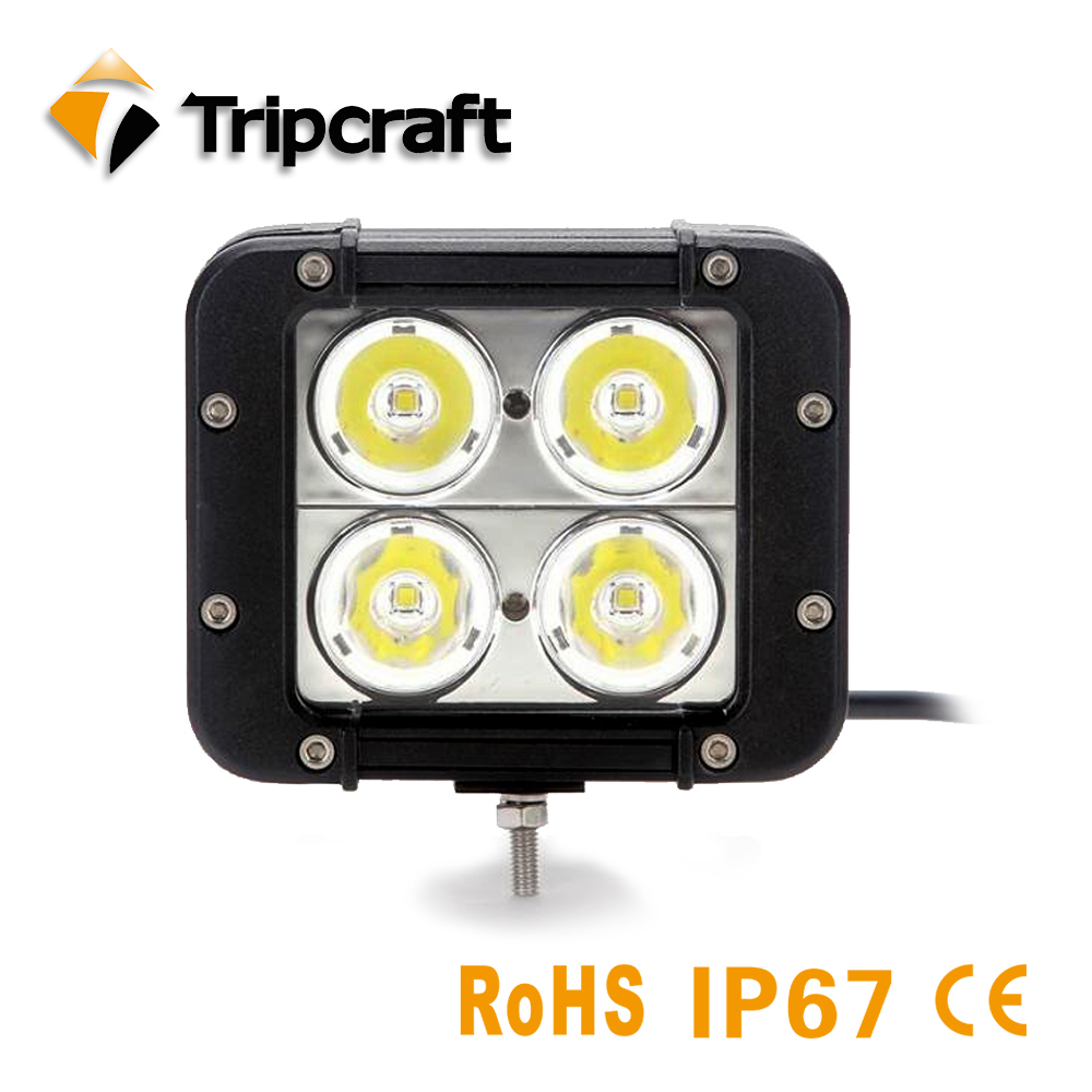 TRIPCRAFT 4.6inch 40w led work light bar spot flood combo beam for OffRoad Boat truck 4x4 ATV UAZ 4wd car fog lamp 12V 24V ramp tripcraft 4 6inch 40w led work light bar spot flood combo beam for offroad boat truck 4x4 atv uaz 4wd car fog lamp 12v 24v ramp