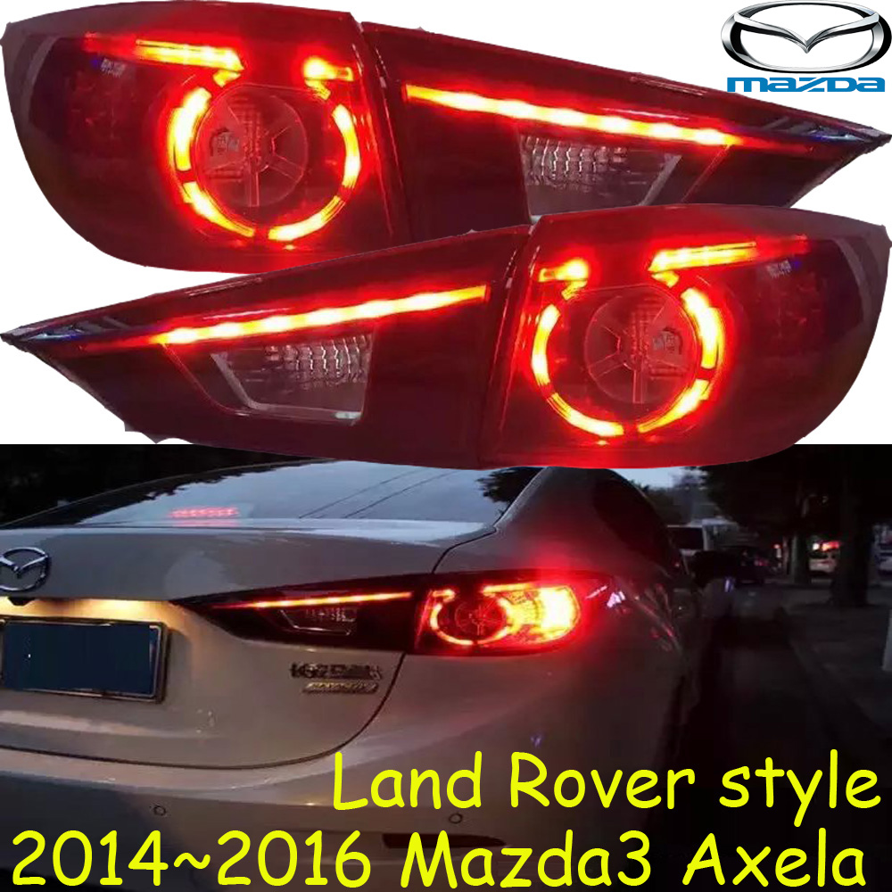 Mazd3 Axela taillight 2014~2016,Free ship!LED,4pcs/set,axela rear light,axela fog light;Axela,CX-5,Mazd 3 mazd6 atenza taillight sedan car 2014 2016 free ship led 4pcs set atenza rear light atenza fog light mazd 6 atenza axela cx 5