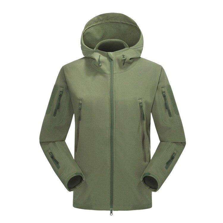 2019 nouveau hiver hommes SoftShell polaire vestes manteaux mode décontracté chaud Ski hommes coupe-vent vestes à capuche S-XXL