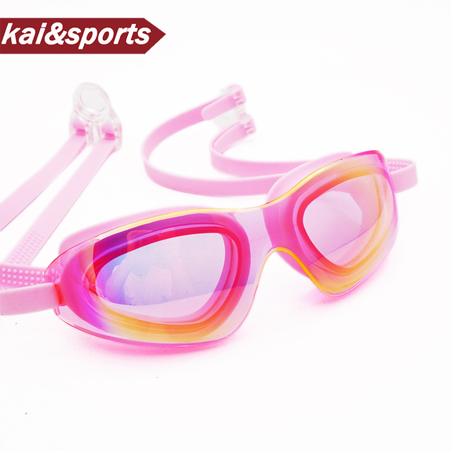 4b0641b10b9 Top Quality Swimming Goggles Professional Swimming Glasses Big Frame  swimming pool accessory Primary forming durable