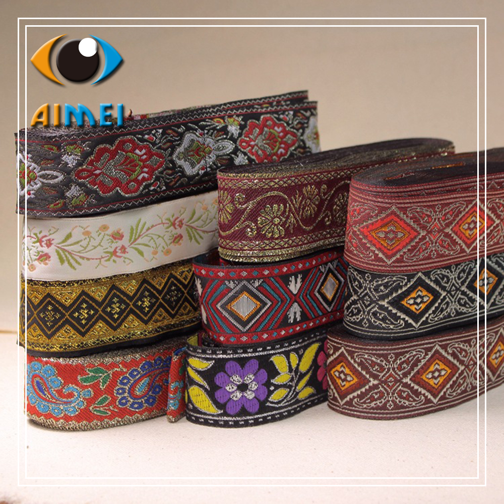 The new supply of high - quality ethnic minority Ribbon sewing cloth accessories DIY clothing Hanfu decorative materials