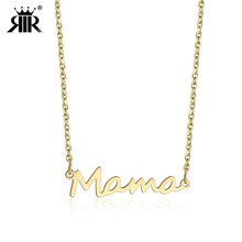 RIR Delicate Letter Mama Necklace Mother
