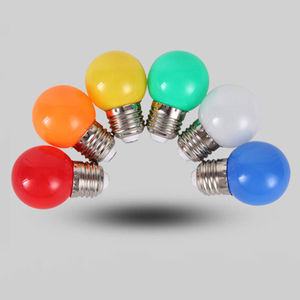 LED bulb color E27 screw 3W re