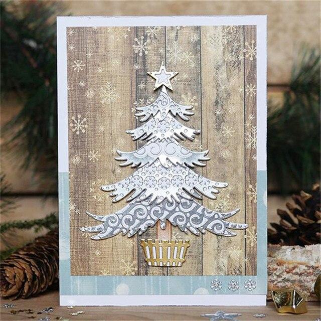 InLoveArts 2018 Ornaments Pine Tree 15Pcs/Lots