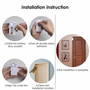 Image 5 - Door Window Entry Security ABS Wireless Remote Control Door Sensor Alarm Host Burglar Security Alarm System Home Protection Kit