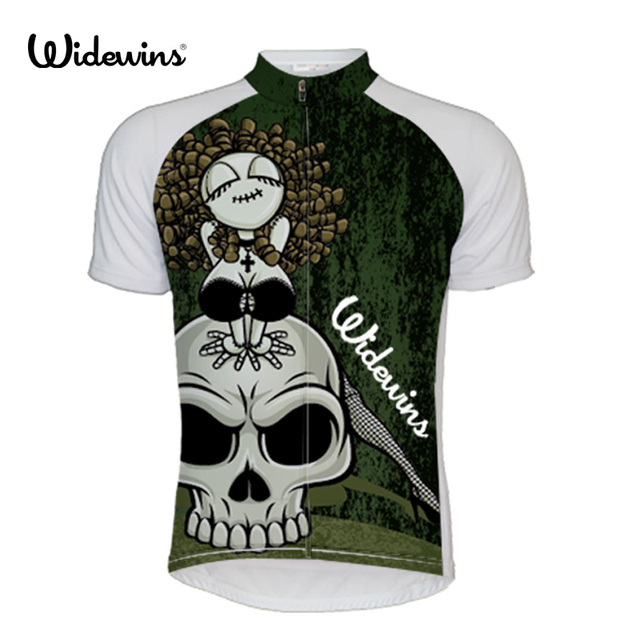 b5d8bb404cb New Arrivals Skull Men s Cycling Jersey Short Sleeve Bicycle Clothing  Quick-Dry Riding Bike Clothes Ropa Ciclismo 5453