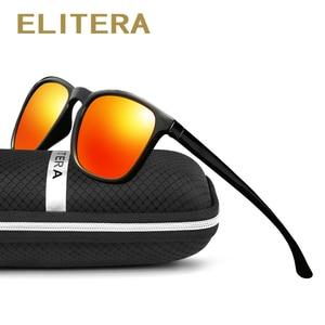 Image 2 - ELITERA מותג יוניסקס רטרו משקפי שמש מקוטב עדשת בציר משקפי שמש אביזרי משקפיים לגברים/נשים