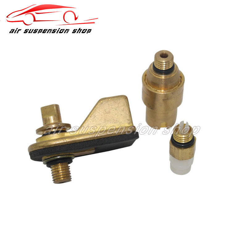 for Audi <font><b>A8</b></font> <font><b>D3</b></font> Bentley for VW Phaeton Air Shock Absorber Valve Front Air Suspension Repair Kit 4E0616040AF 3W0616040 3D0616040AD image