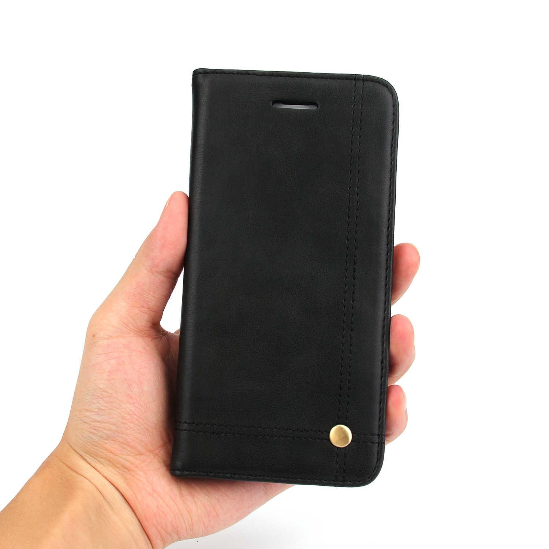 Сотовый Телефон Случаях Для Apple iPhone 7 PU Кожаный Чехол Ретро Crazy Horse Флип Чехол Мешок Мобильного Телефона Capinhas Celular Для iPhone 7