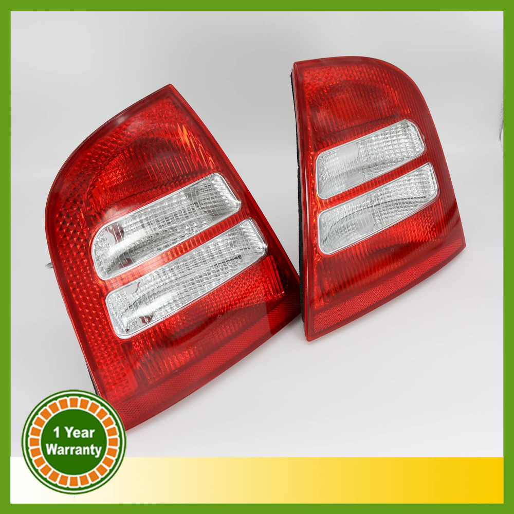 For Skoda Octavia A4 MK1 Sedan 2000 2001 2002 2003 2004 Tail Light Rear Light Car Styling free shipping for skoda octavia sedan a5 2005 2006 2007 2008 left side rear lamp tail light