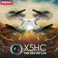 Original Syma X5HC RC Helicopter With Camera HD X5C Upgrade 2 4G 4CH Drone Quadrocopter Toy