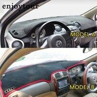 Mazda 323 mazda2 mazda 2 자동차 스타일링 커버 dashmat dash 매트 대시 보드 커버