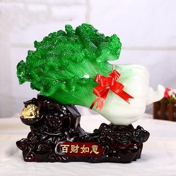 "GOOD  office home lobby shop efficacious Money Drawing ""BAICAI & JIN CHAN""Propitious FENG SHUI jade Sculpture statue   25CM"