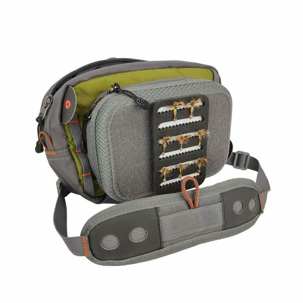 Aventik Fly Fishing Bag Fishing Chest Bag Ultra Light Multiple Pockets Fishing Tool Accessory