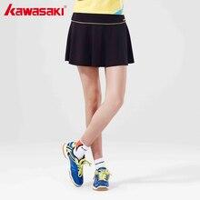 Kawasaki плиссированные спортивные Юбки для женщин с Детская безопасность Брюки для девочек быстросохнущая Настольный теннис Бадминтон Юбки-шорты для Для женщин sk-16275