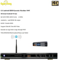 20pcs/lot GymSong MTV Android KTV HARD DRIVER KARAOKE PLAYER BUILT IN WIFI & APPS Ktv Jukebox Taiwan Home Theatre System
