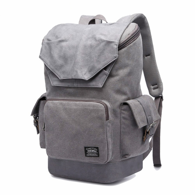 New Arrival Vintage Canvas Backpack Women and Men With Latest Fashion  Design Military Backpack Kaukko Bag Backpack d4676b85f8cc5