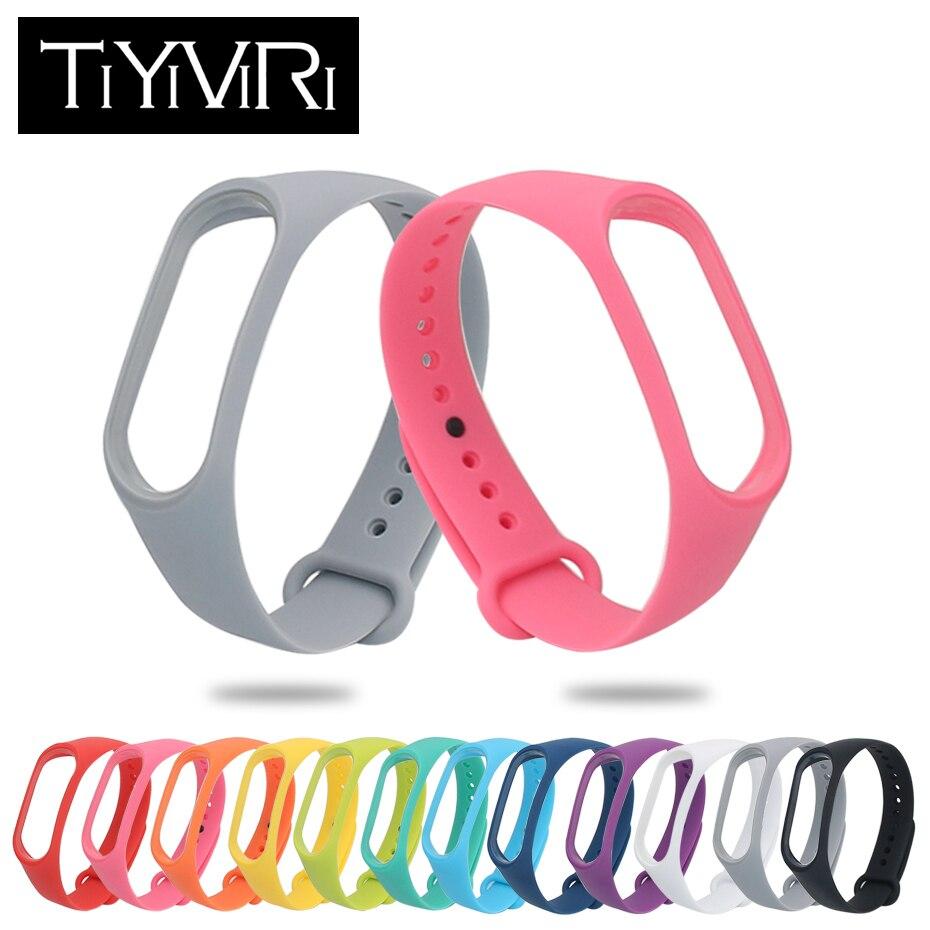 Mi band3 bracelet For xiaomi mi band 3 Sport Watch Silicone Wrist Strap For xiaomi mi band 3 Accessories Bracelet Miband 3 Strap