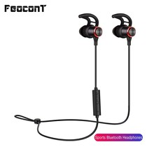 Bluetooth Headset Neckband Headphones Wireless Earphone Running Sports Waterproof Stereo Bass Headset With Mic For Xiaomi IPhone haoxian wireless bluetooth headphones waterproof stereo sports running earphone handsfree headset with hd mic for phone