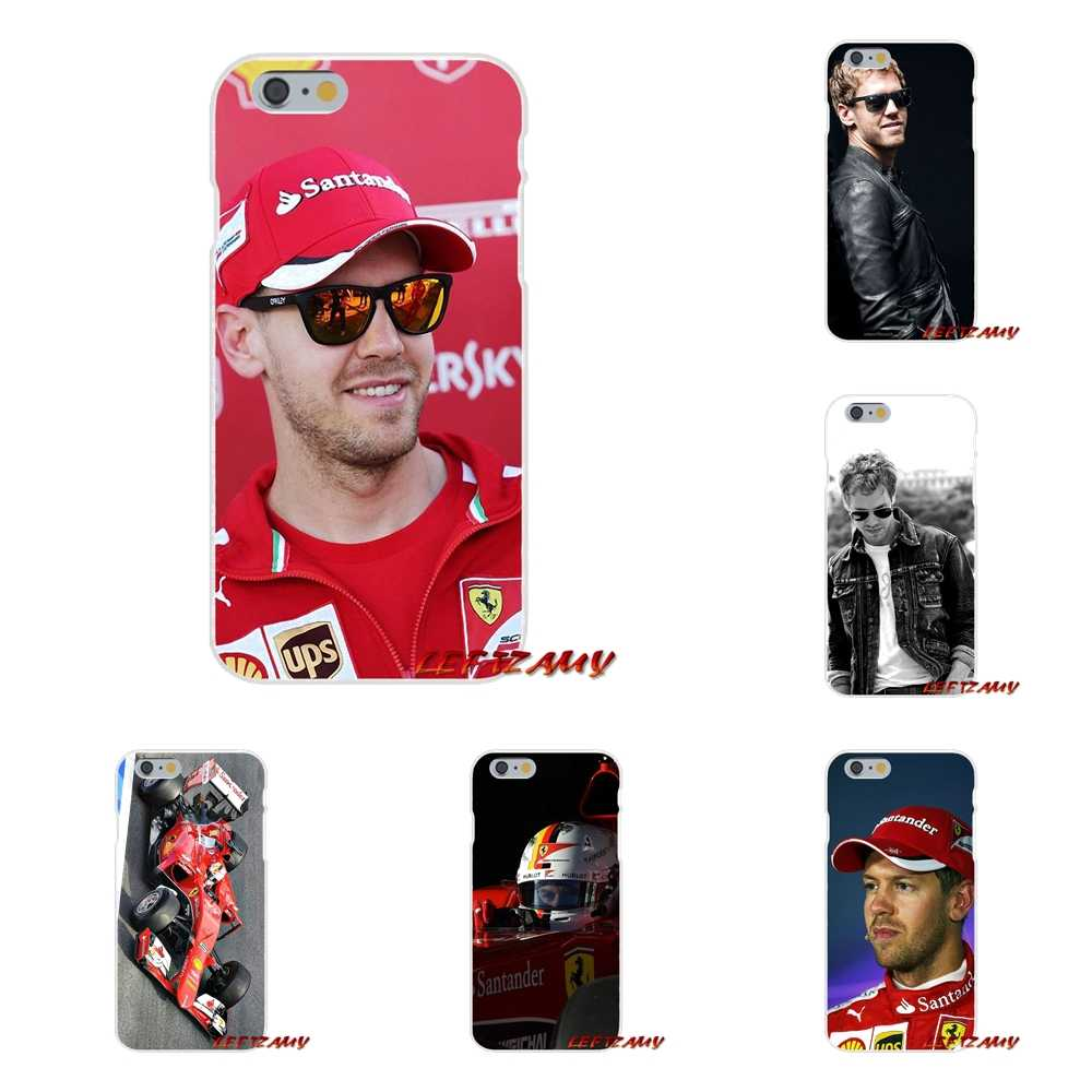 For Samsung Galaxy S3 S4 S5 MINI S6 S7 edge S8 S9 Plus Note 2 3 4 5 8 Sebastian Vettel Accessories Phone Shell Covers