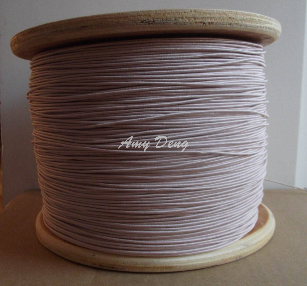 100meters/lot  0.1X90 Litz Wire Mul Strand Polyester Copper Wire Spinnery