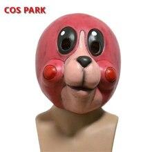 The Umbrella Academy Halloween Cosplay Costume Latex Animal Head Masks for Adults цена