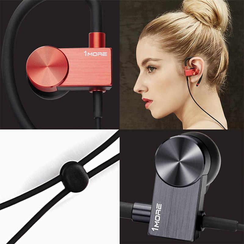 1 więcej EB100 E1023BT aktywny Bluetooth 4.2 słuchawki douszne bezprzewodowe zestaw słuchawkowy słuchawka sportowa Stereo słuchawka z mikrofonem IPX4 odporny na pot