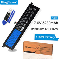 KingSener 7.6V 39Wh 5230mAh R13B02W R13B01W Laptop Battery For Xiaomi Mi Air 13.3 Tablet PC