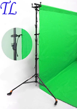 Tracking Number+ 4 Pcs Photography Studio Background stand holder Clips Backdrop Clamps Pegs Photo Equipment