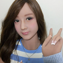 153 cm / 5′ Doll  Japanese adult lifelike anime oral love dolls full vagina pussy big breast real silicone sex dolls