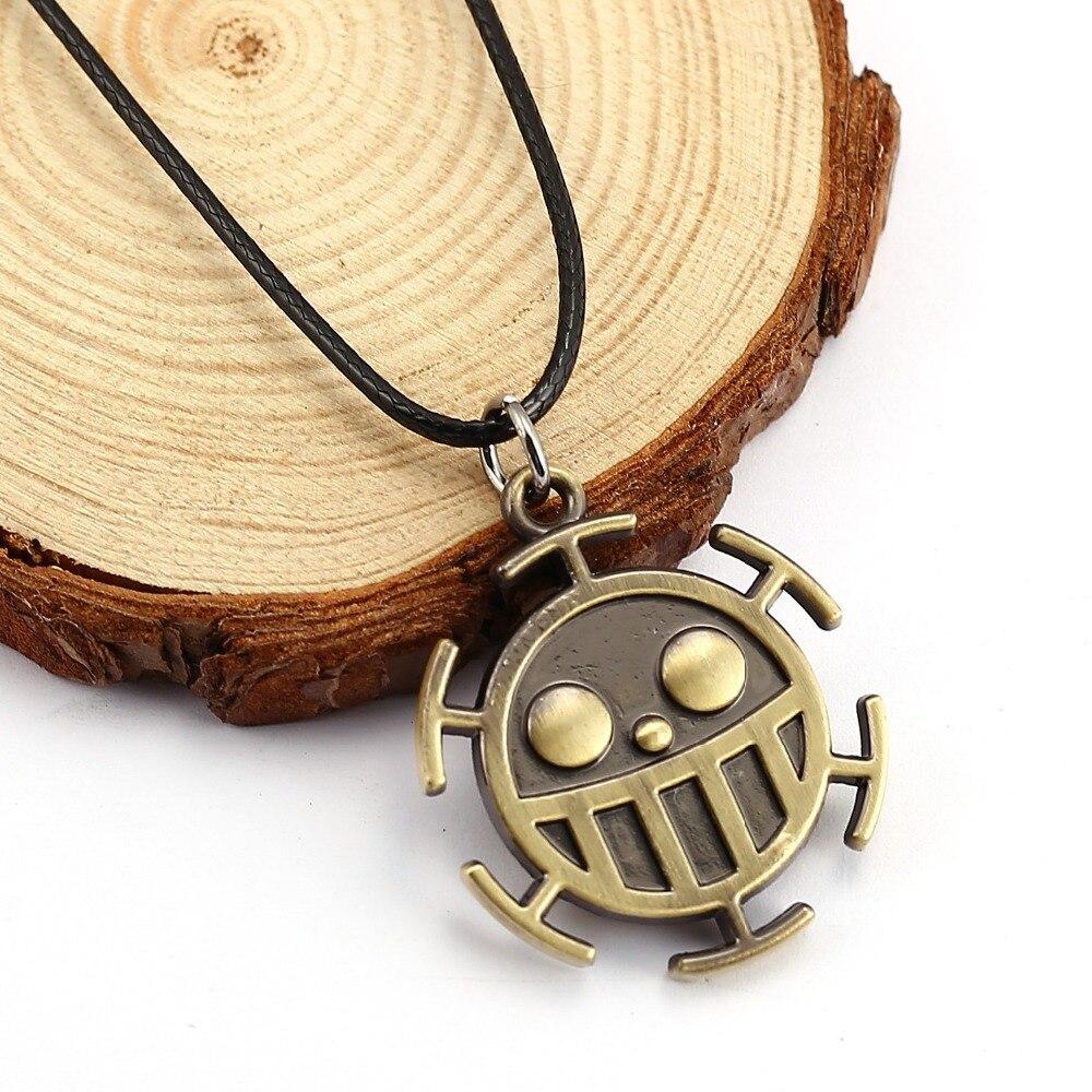 Piece Necklace Trafalgar Pendant Men Women Gift Anime Accessories Ys11683