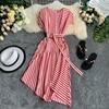 Striped Women Dress