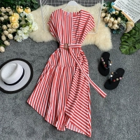 Striped Women Dress
