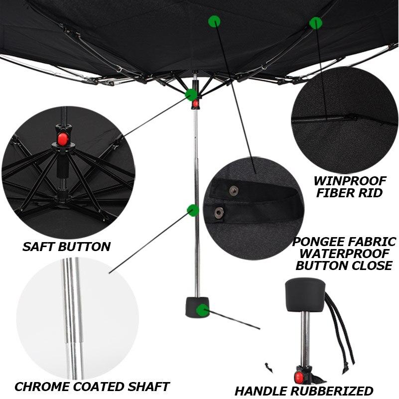женский зонт механика