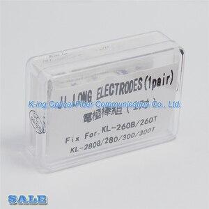 Image 5 - Ücretsiz kargo yeni elektrotları Jilong kl 280 kl280g kl 300 kl 260 Fusion Splicer elektrotlar
