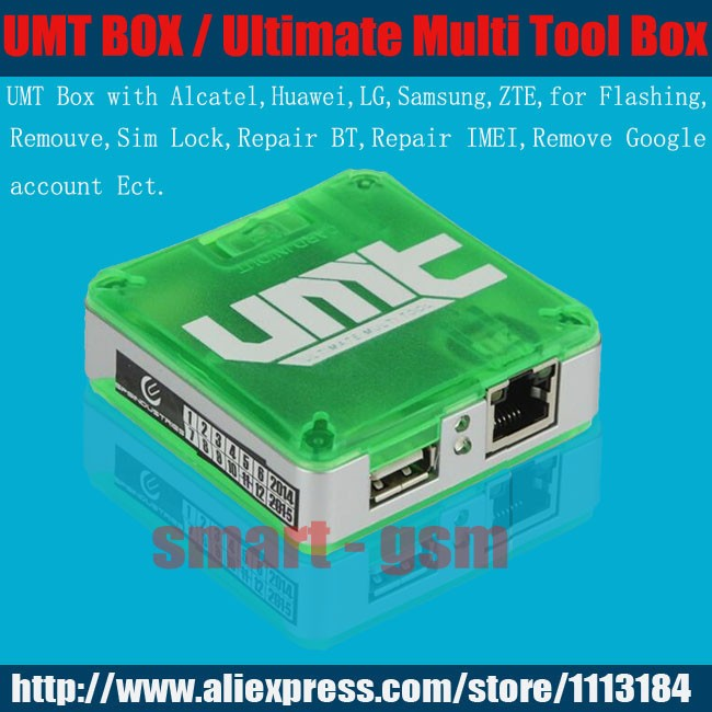 US $77 5 |2016 100% Original UMT BOX Ultimate Multi Tool (UMT) Box UMT Box  for samsung Alcatel Huawei Ect-in Telecom Parts from Cellphones &