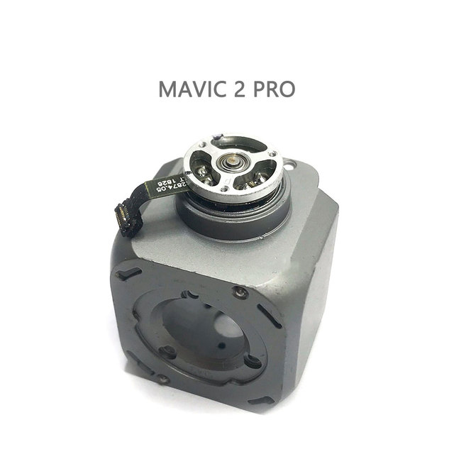 Original Mavic 2 Repair Parts Lens Frame with Pitch Motor for DJI Mavic 2 Pro & Zoom Drone Gimbals Motor Spare Parts(used)