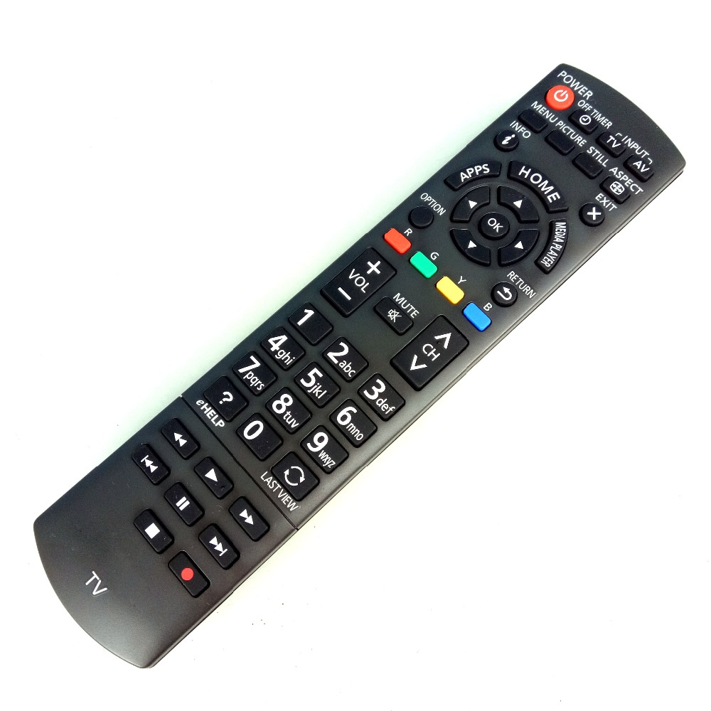 NEW Original for Panasonic TV Remote Control N2QAYB000834 for TH-42AS610G TH-50AS610K TH-32AS610M Fernbedienung