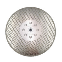 9 230mm Electroplated Diamond Cutting And Grinding Discs For Granite Marble