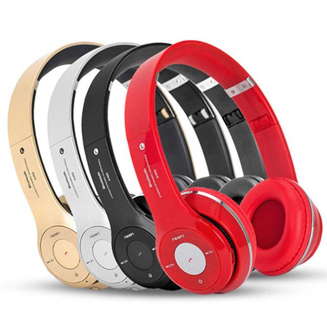 Beatsstudio Grandes auriculares inalámbricos + cable reproductor de MP3 bluetooth audífonos y auriculares con micrófono auriculares para teléfono caliente