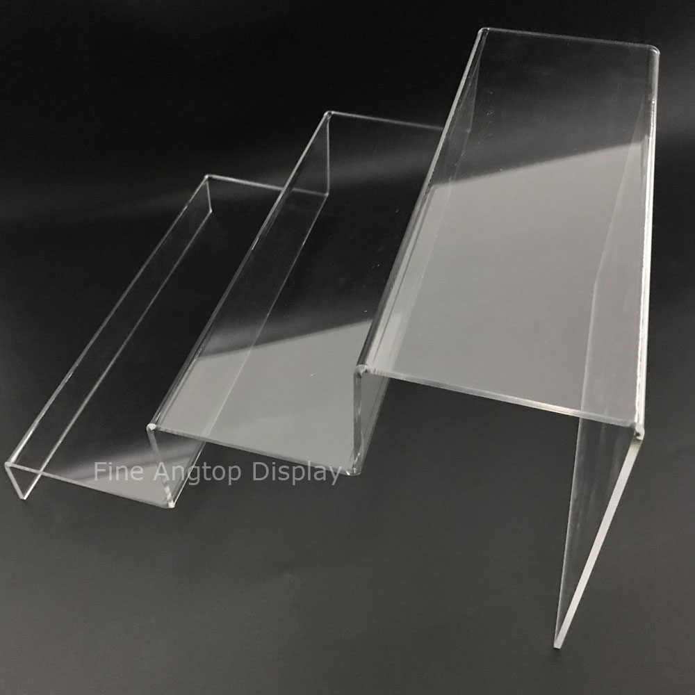 Small Exhibition Stand Questions : Detail feedback questions about clear acrylic riser step display
