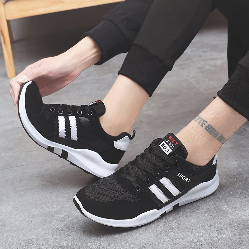 2018 Hot Sale Mens Designer Summer Breathable Men Casual Shoes Comfortable For Flats Non-slip Soft Fashion Adult Sneakers