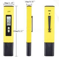 Digital PH Meter Tester PH Analyzer LCD Pen Monitor For Pool Aquarium Water Urine Wine PH