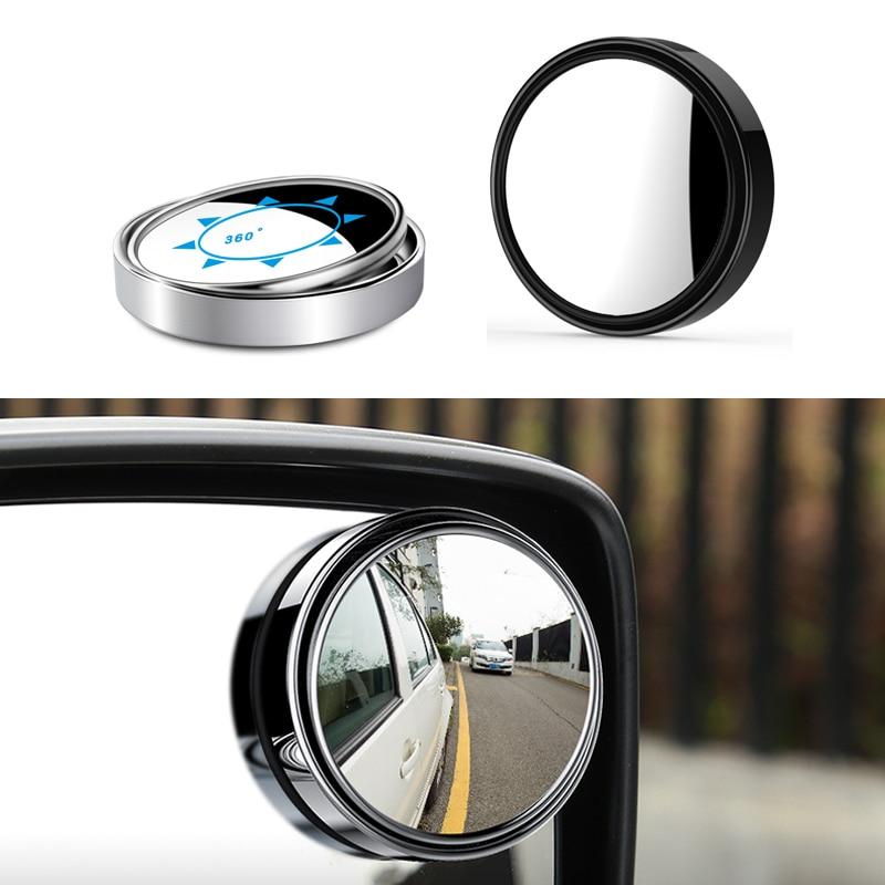 Carro 360 grande angular redondo espelho convexo carro veículo lateral blindspot ponto cego espelho grande espelho retrovisor pequeno espelho redondo