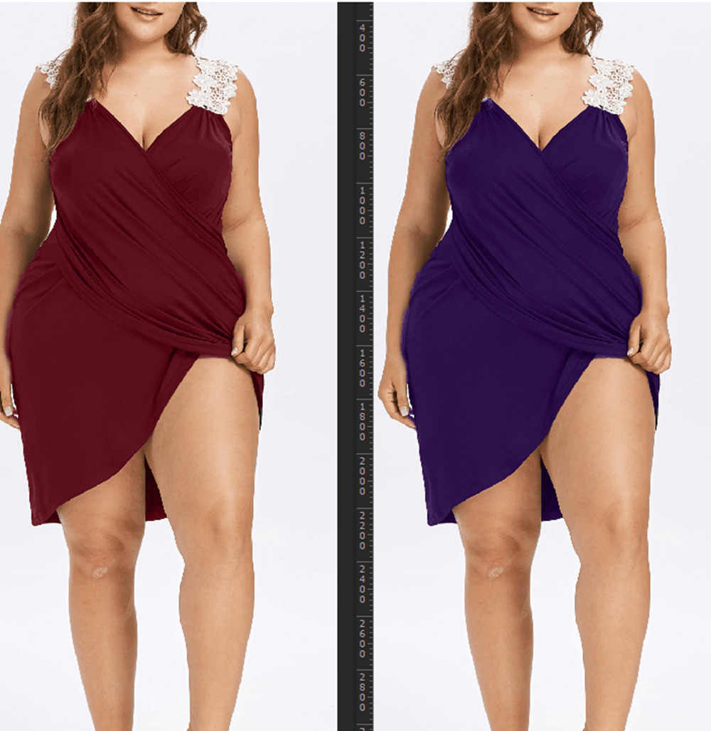 fcd02f2998f41 ... L-5XL Plus Size Women Beach Dress Solid Beach Cover Up Lace Up  Beachwear Large ...