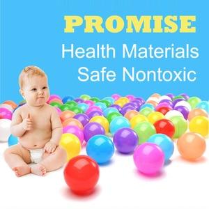 Image 2 - צבעים תינוק פלסטיק כדורי מים בריכת אוקיינוס גל כדור ילדים לשחות בור עם כדורסל חישוק בית לשחק בחוץ אוהלי צעצוע HYQ2