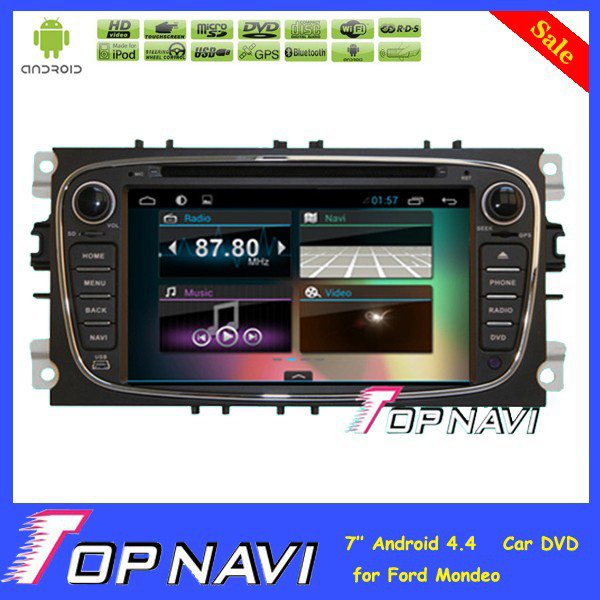 7 inch In Dash Quad Core Android 4 4 font b Car b font DVD Player
